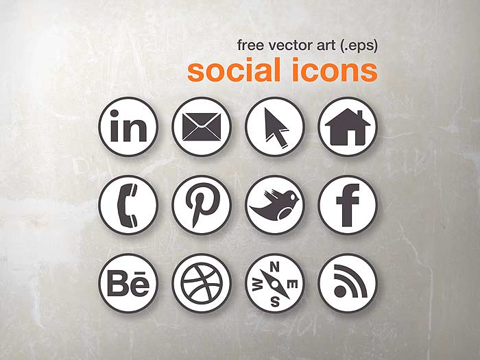 Free Social Media Icon Set Danocreative The Personal