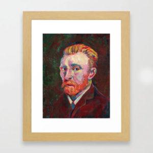 framed art - van gogh